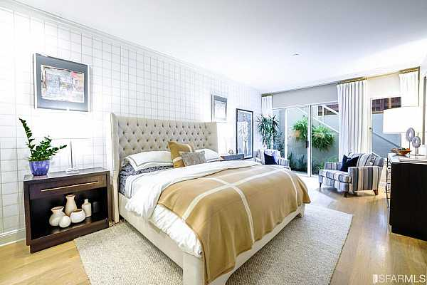 Photo #7 Spacious master suite with designer details and large walk-in closet.