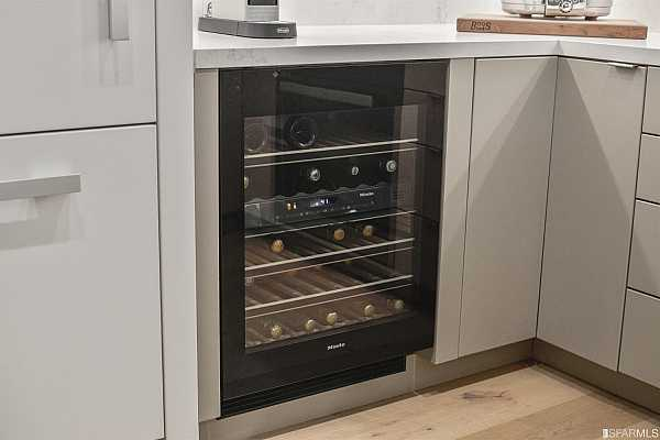 Photo #9 The Miele wine cooler featuring MasterCool technology.