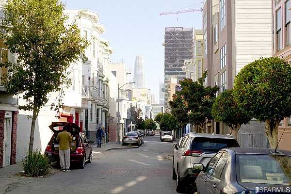 Photo #12 Natoma Street is smaller and much less traveled than the adjacent main streets, Howard and Mission.