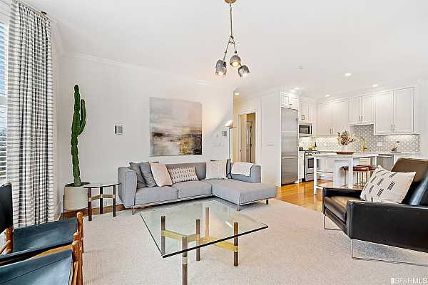 Photo #4 Welcome to Residence 301 at 1310 Greenwich - Open and spacious living space.
