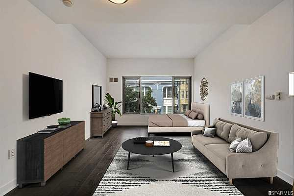 Photo #2 Main living area room (virtually staged)