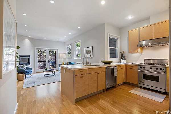 Photo #2 Open concept kitchen is perfect for entertaining in or outdoors.