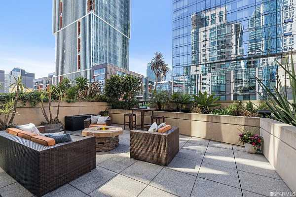 Photo #2 The huge, exclusive use terrace is perfect for entertaining and soaking up the sun.