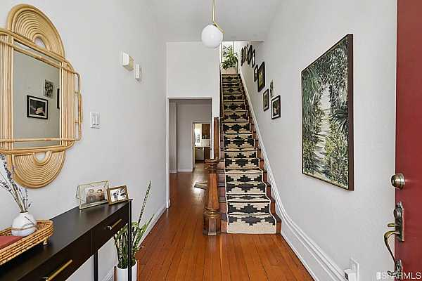 Photo #5 Gorgeous stair runners make for a warm welcome.
