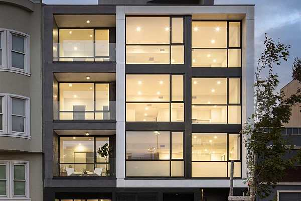 Photo #2 Candela Russian Hill is the masterwork of architecture and design, guided by a commitment to an elevated residential development through precise engineering, hand-selected materiality, and rigorous artisanal craftsmanship. The fully realized condominium, crafted in collaboration with Michael Kao of MAK Studio, is the culmination of a multi-year study in augmenting the light and framing the uninterrupted views of San Francisco Bay and the Golden Gate Bridge for north-facing residences and the iconic skyline to the south.   Reminiscent of the iconic works of California modernism, Candela Russian Hill embraces and celebrates the locale with floor-to-ceiling windows, voluminous ceiling heights, and an abundance of outdoor space.